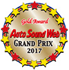 Auto Sound Web Grand Prix 2017 Gold Award